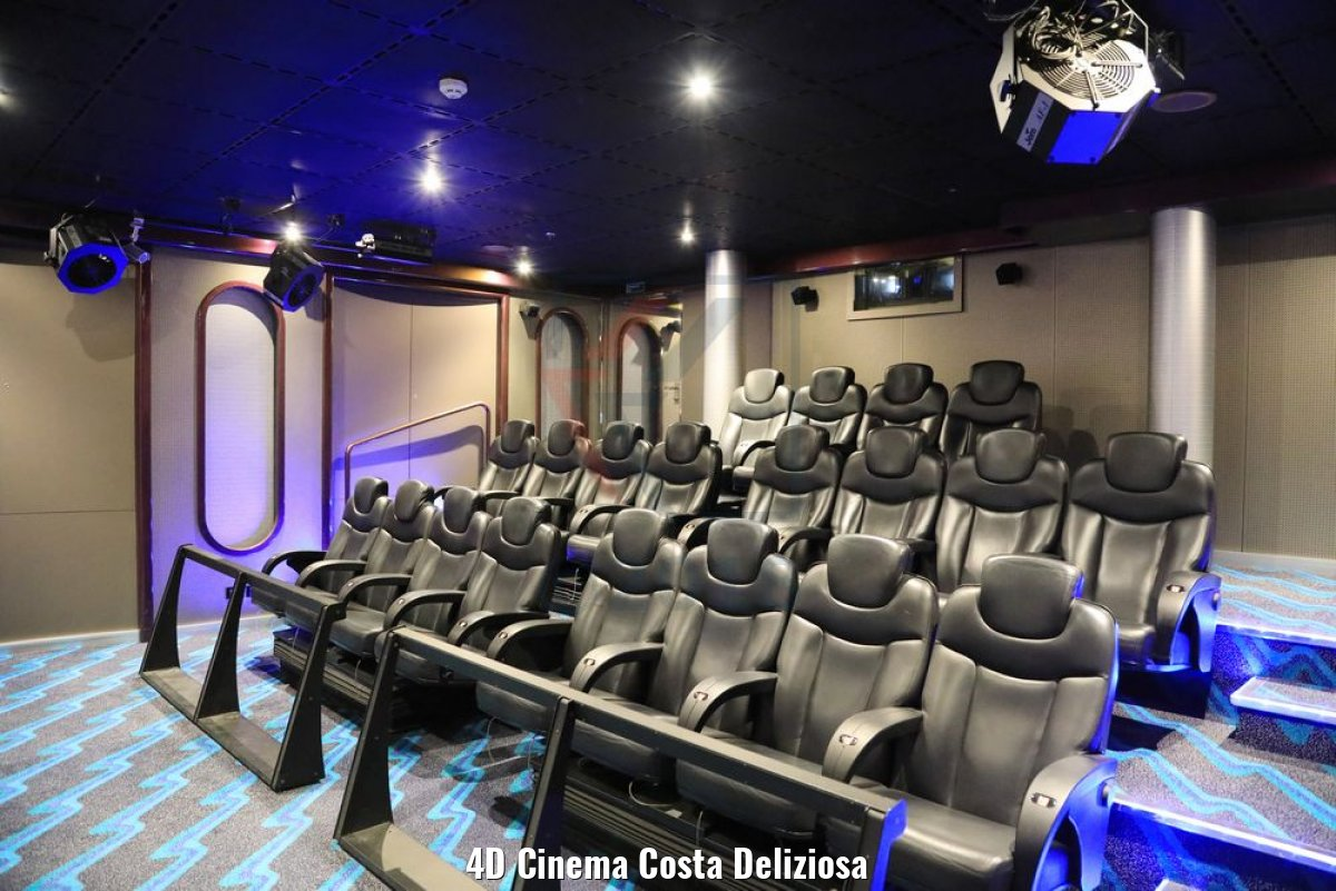 4D Cinema Costa Deliziosa