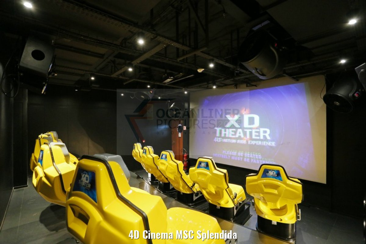 4D Cinema MSC Splendida