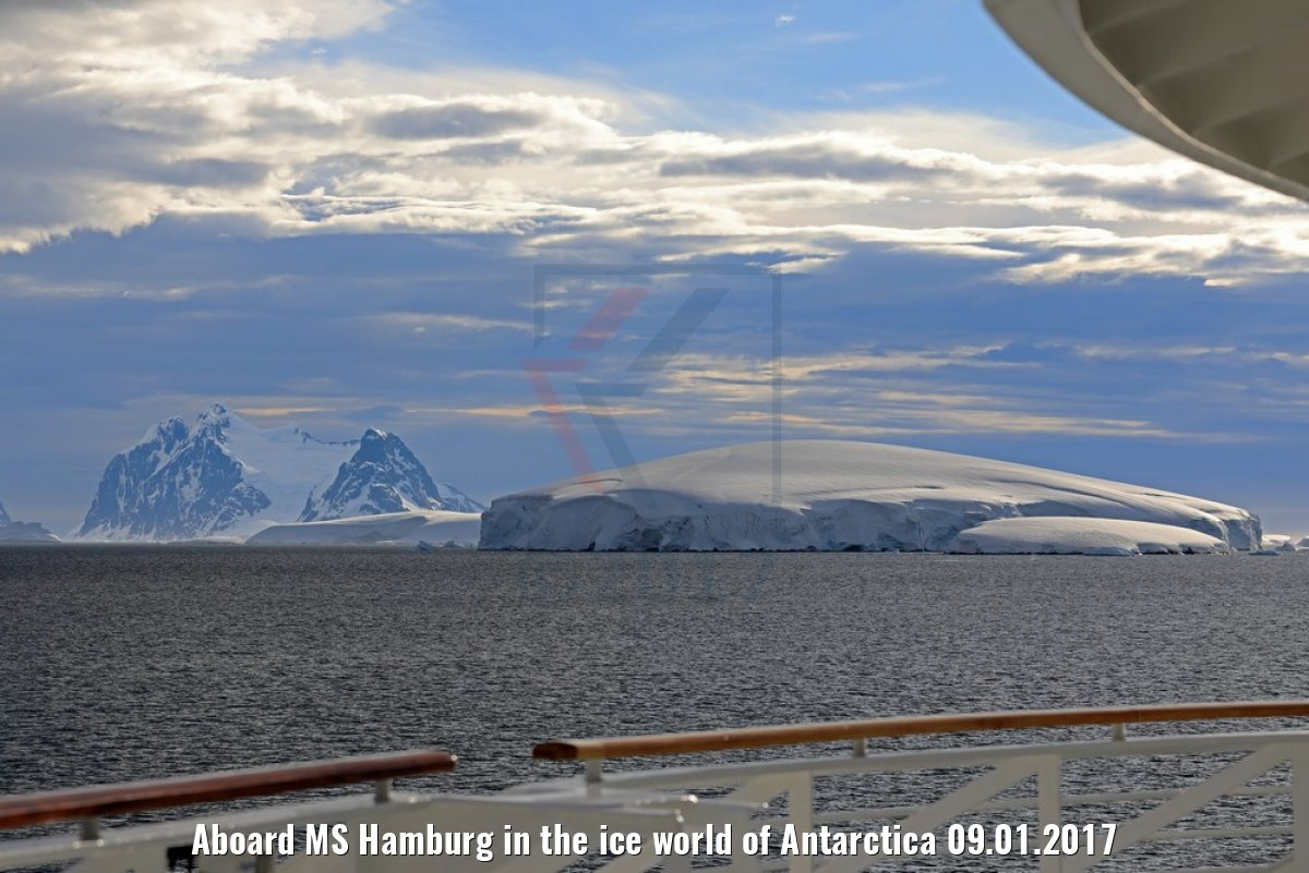 Aboard MS Hamburg in the ice world of Antarctica 09.01.2017