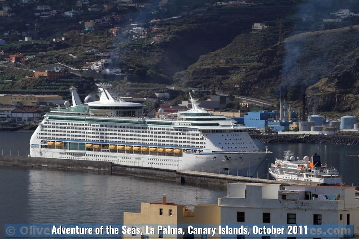 Adventure of the Seas, La Palma, Canary Islands, October 2011
