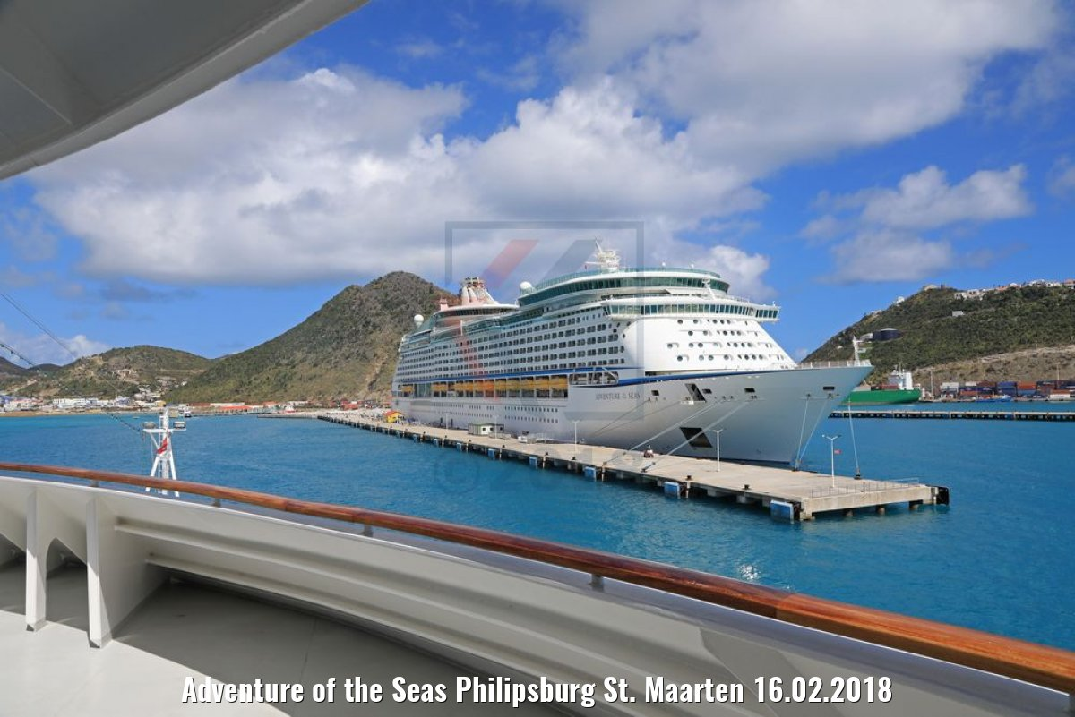 Adventure of the Seas Philipsburg St. Maarten 16.02.2018