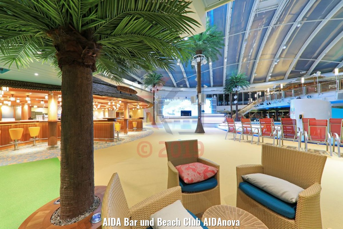 AIDA Bar und Beach Club AIDAnova