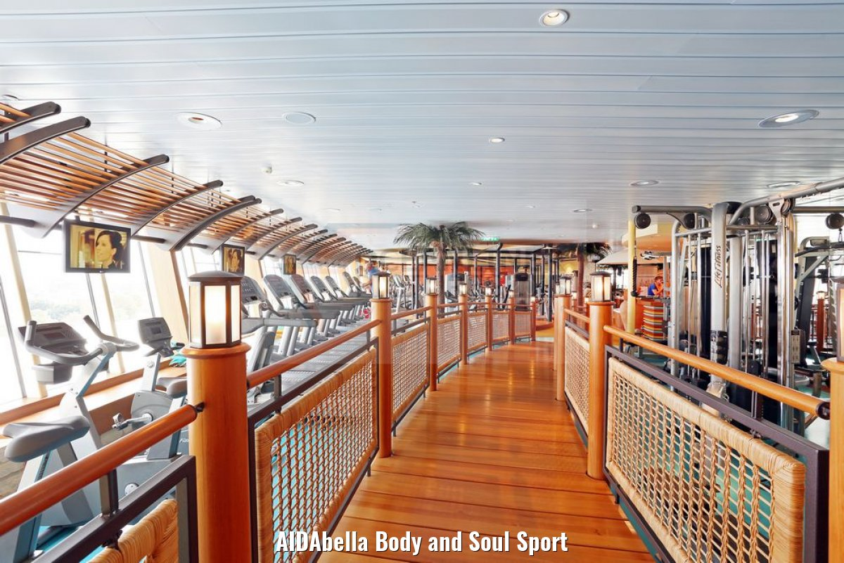 AIDAbella Body and Soul Sport