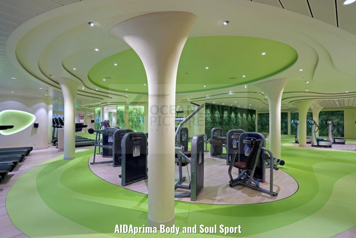 AIDAprima Body and Soul Sport