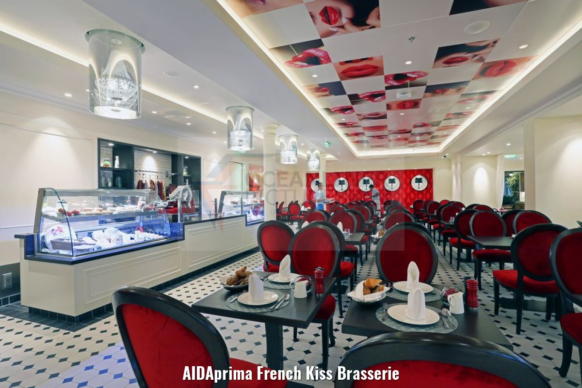 AIDAprima French Kiss Brasserie