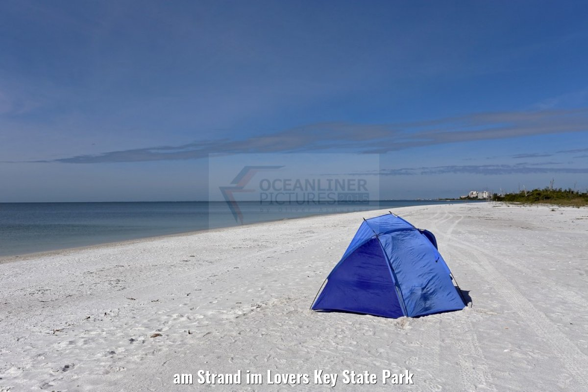 am Strand im Lovers Key State Park