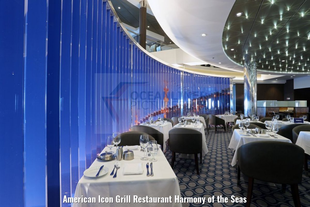 American Icon Grill Restaurant Harmony of the Seas