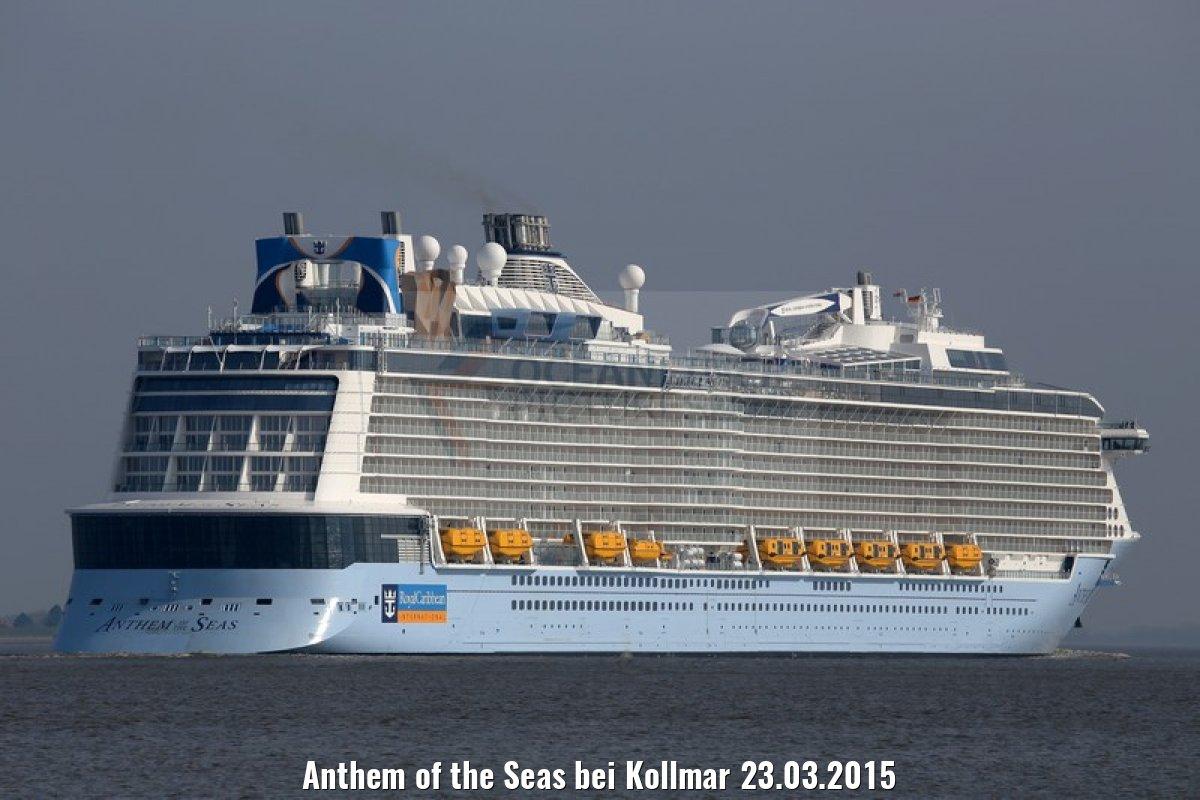 Anthem of the Seas bei Kollmar 23.03.2015