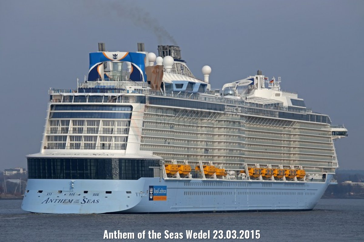 Anthem of the Seas Wedel 23.03.2015