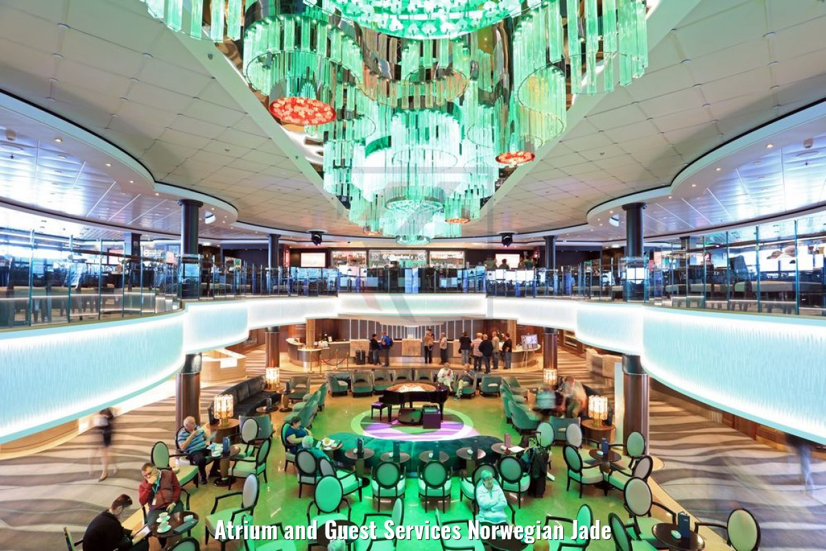 Atrium and Guest Services Norwegian Jade