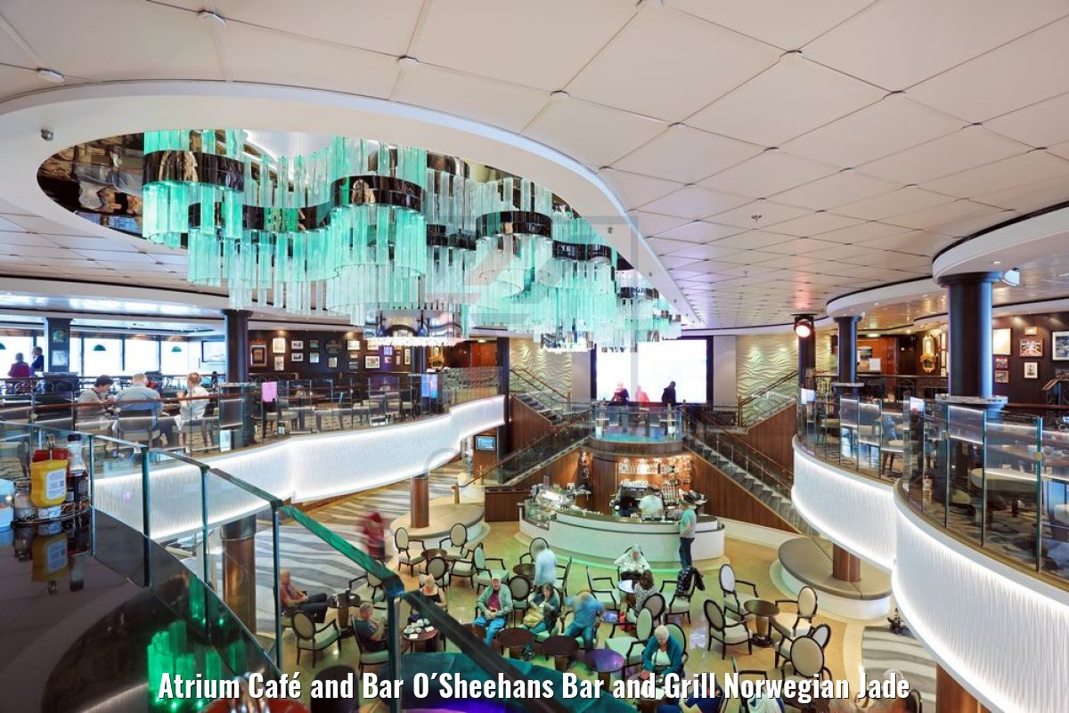 Atrium Café and Bar O´Sheehans Bar and Grill Norwegian Jade