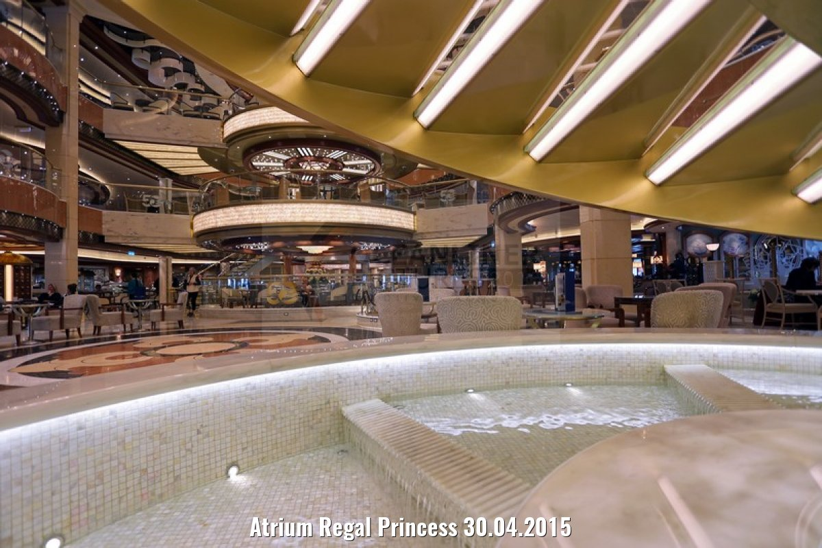 Atrium Regal Princess 30.04.2015