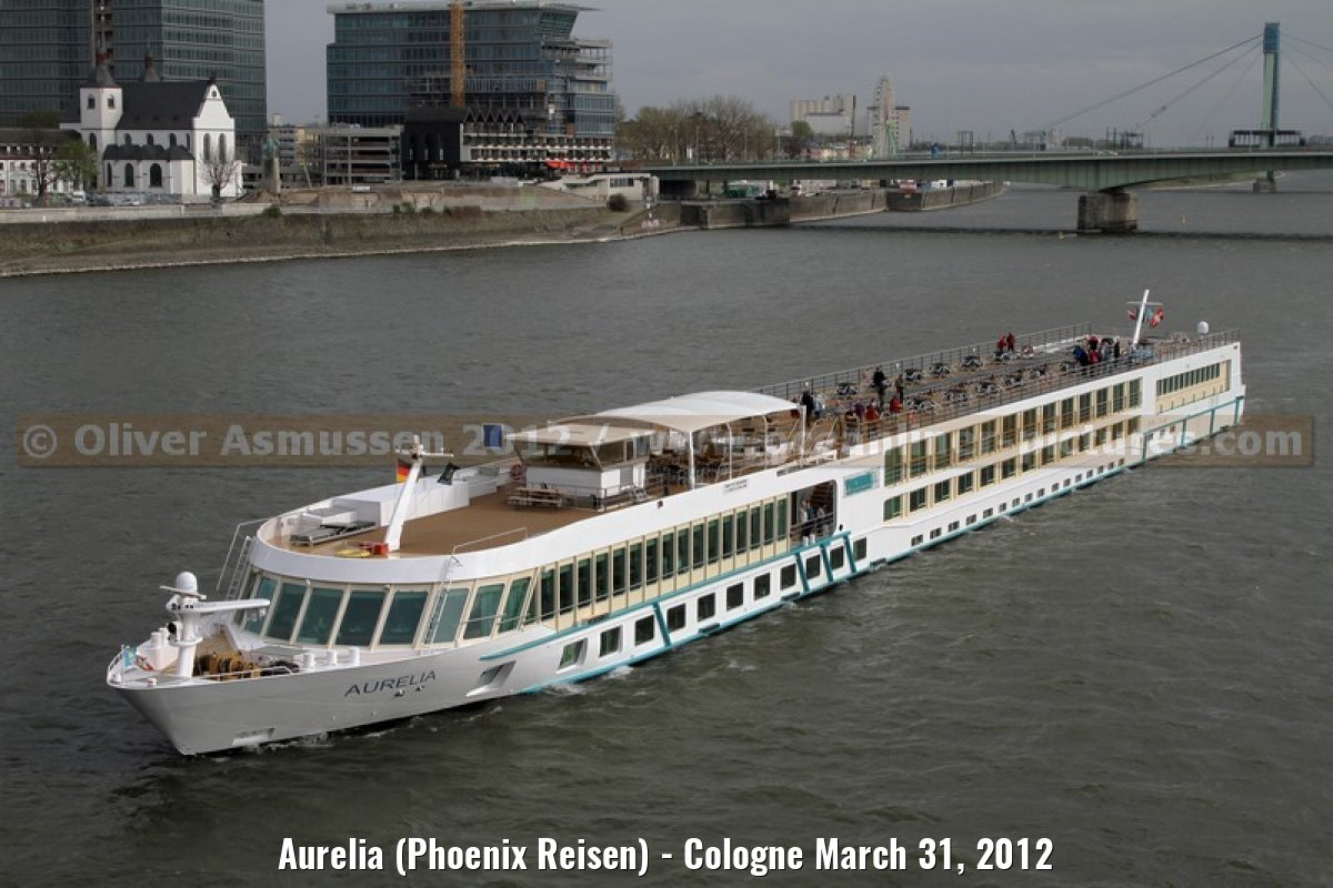 Aurelia (Phoenix Reisen) - Cologne March 31, 2012