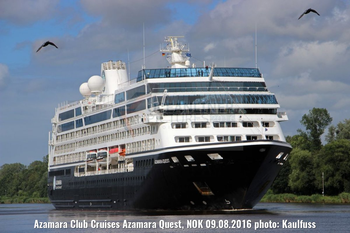 Azamara Club Cruises Azamara Quest, NOK 09.08.2016 photo: Kaulfuss