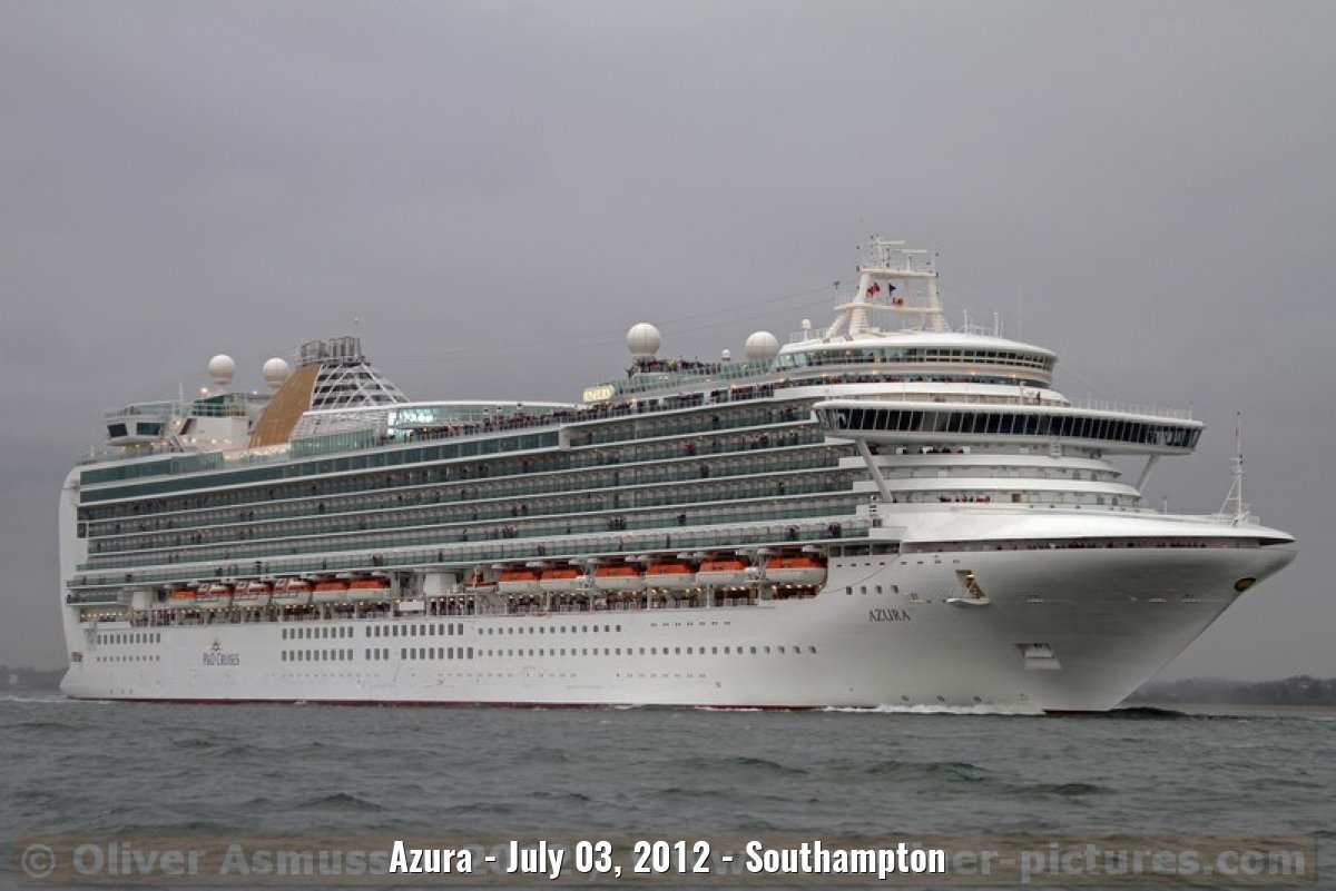 Azura - July 03, 2012 - Southampton