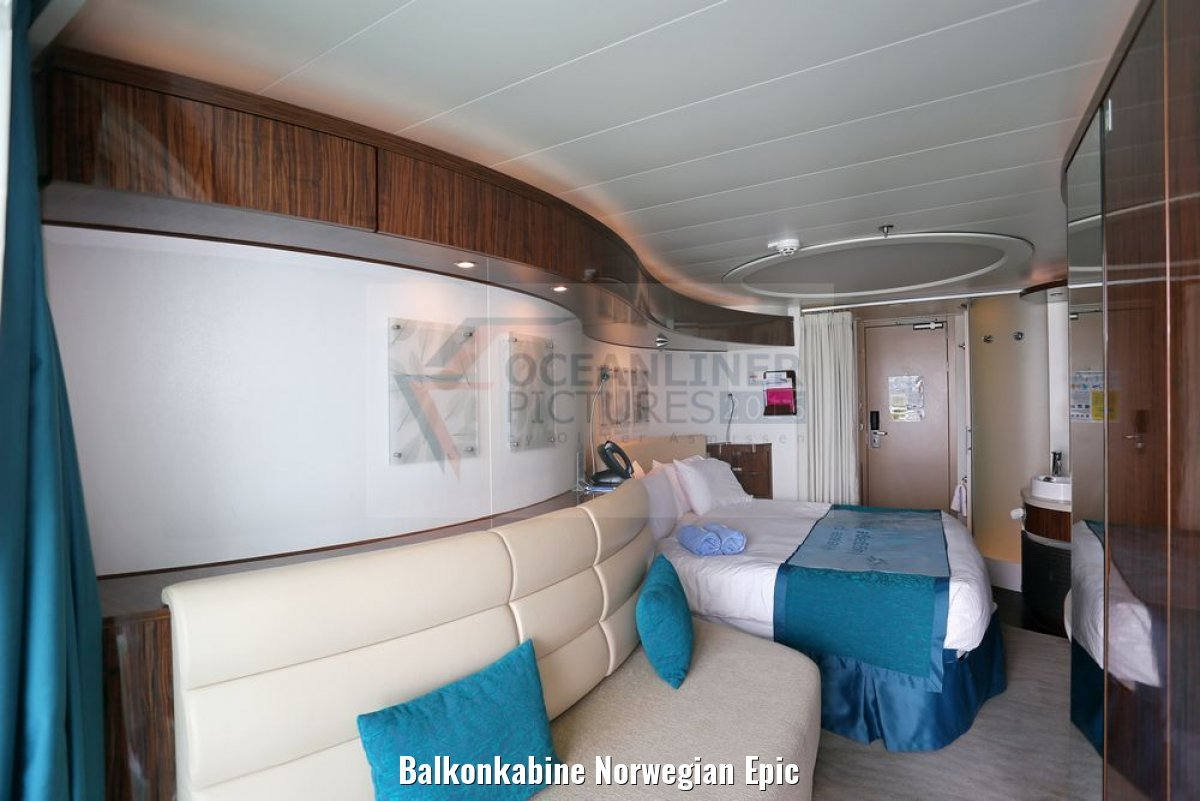 Balkonkabine Norwegian Epic