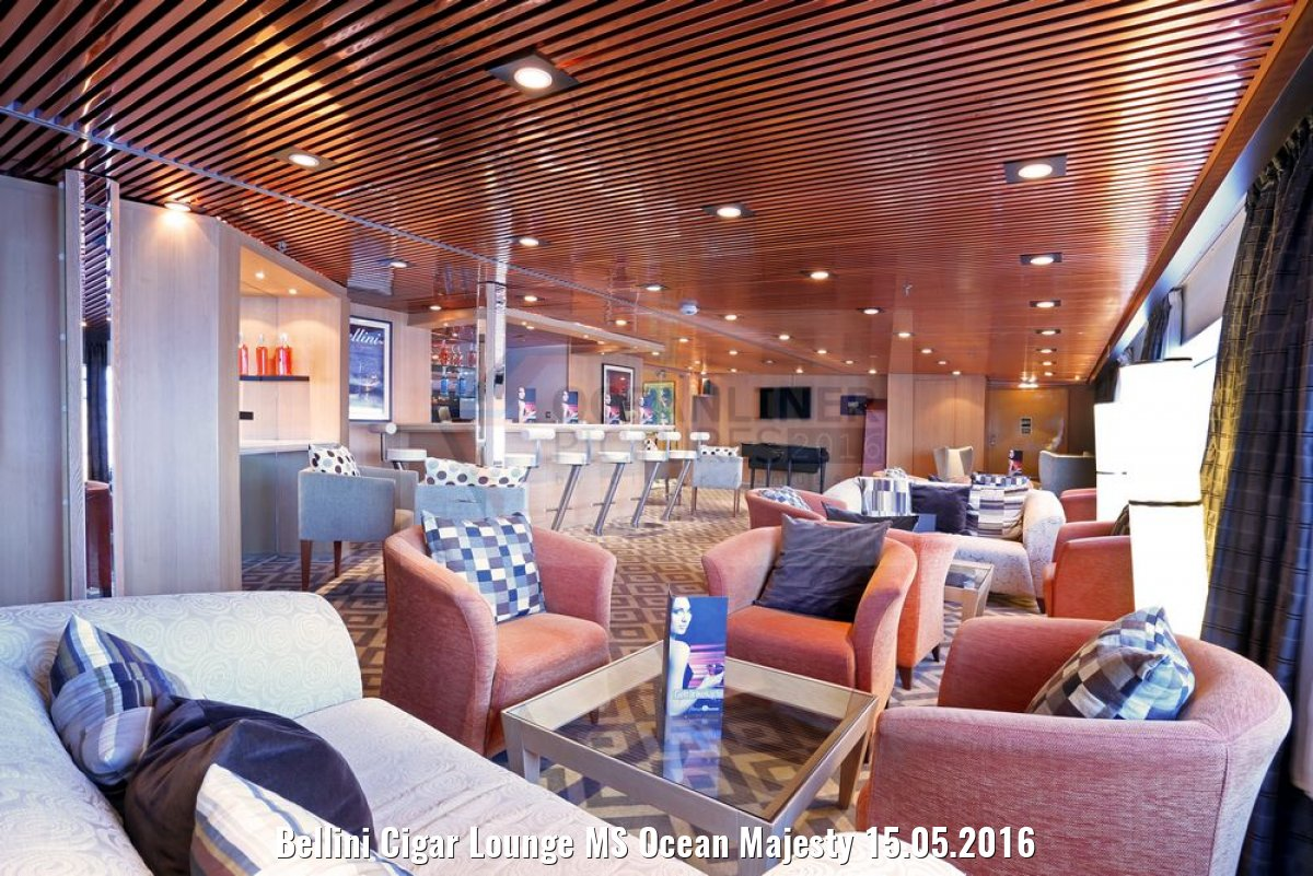 Bellini Cigar Lounge MS Ocean Majesty 15.05.2016