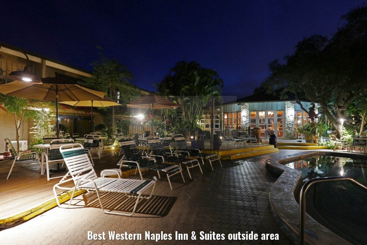 Best Western Naples Inn & Suites outside area