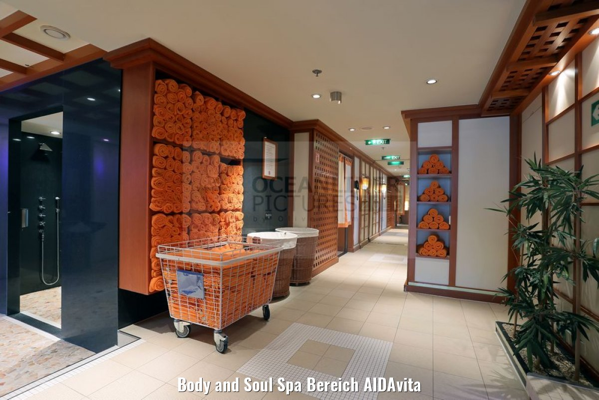 Body and Soul Spa Bereich AIDAvita