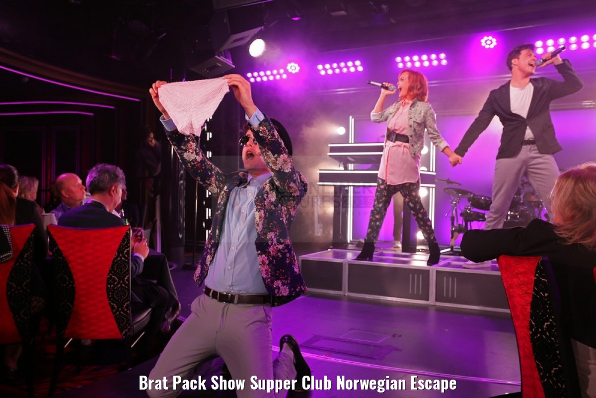 Brat Pack Show Supper Club Norwegian Escape
