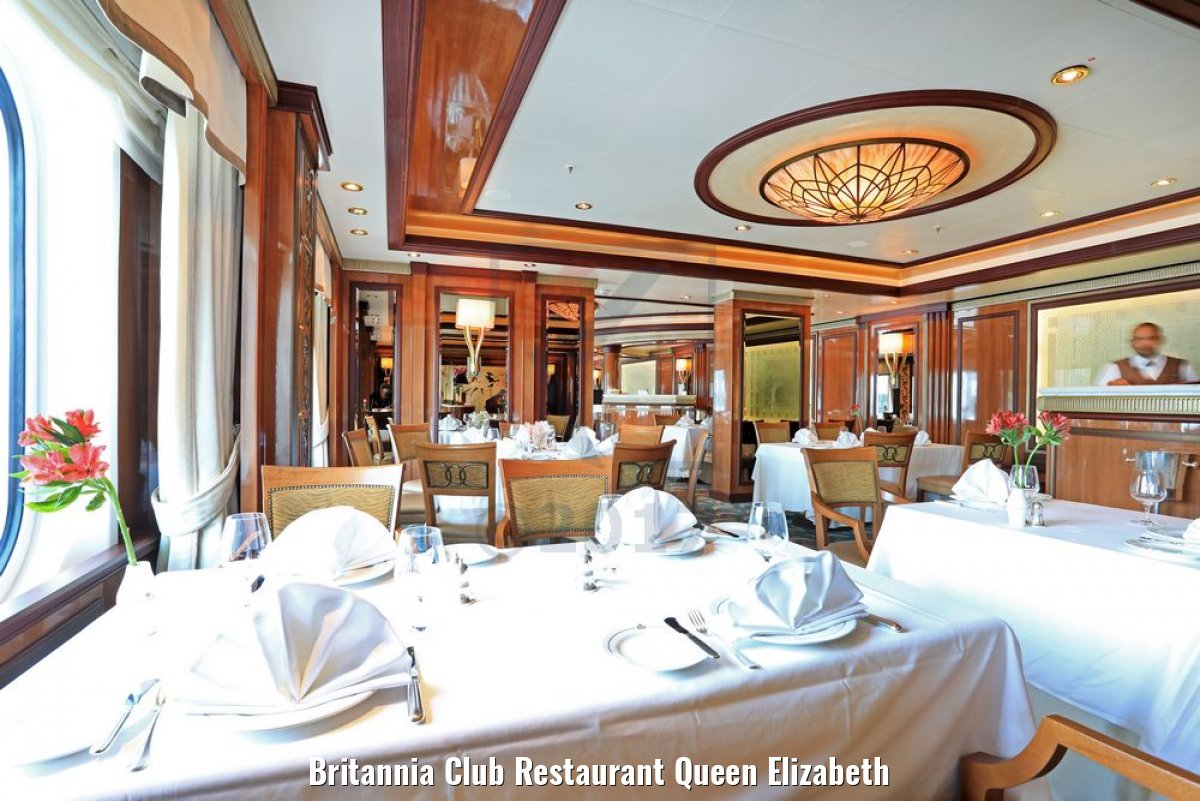 Britannia Club Restaurant Queen Elizabeth