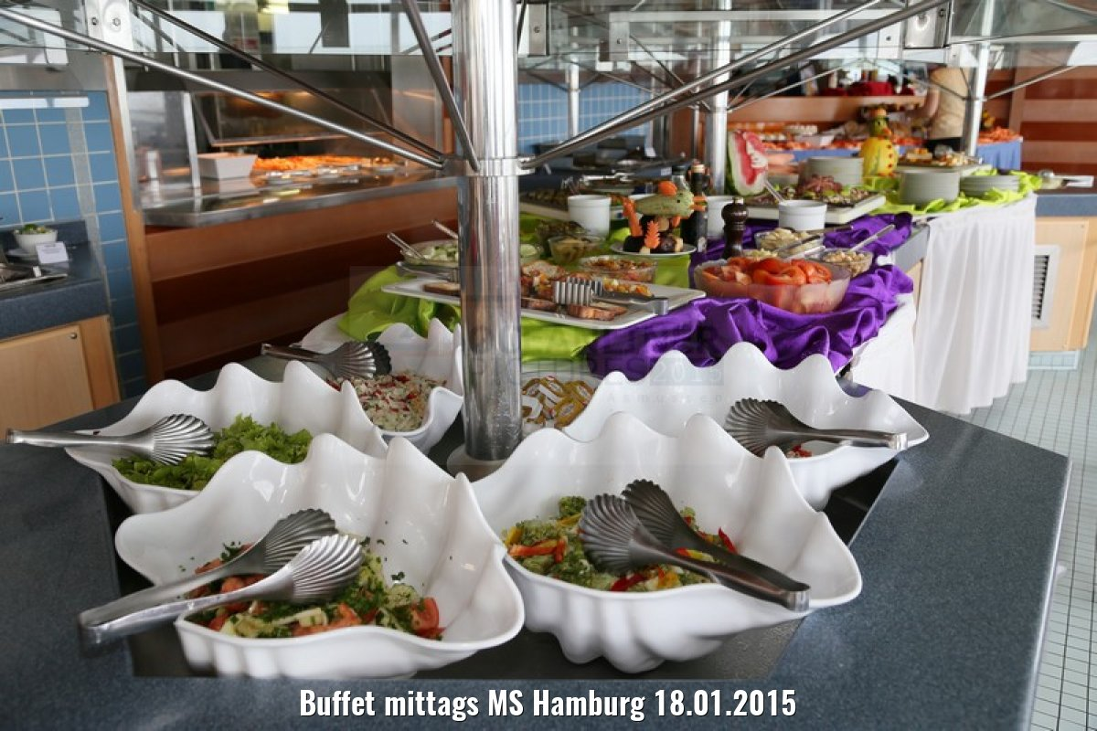 Buffet mittags MS Hamburg 18.01.2015