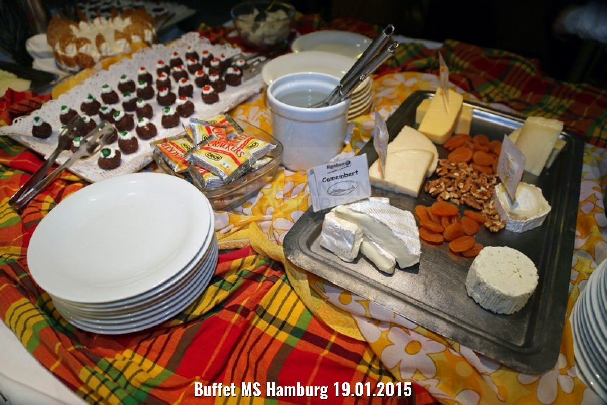 Buffet MS Hamburg 19.01.2015