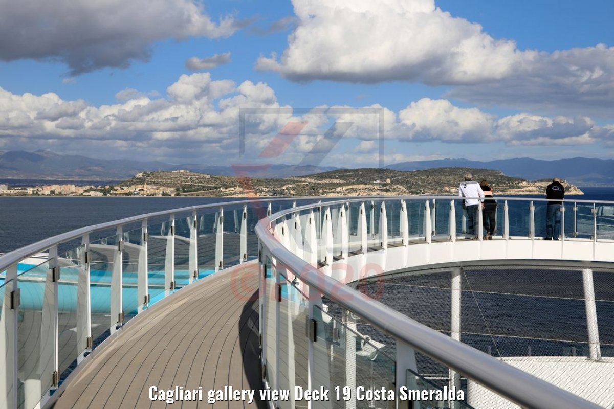 Cagliari gallery view Deck 19 Costa Smeralda