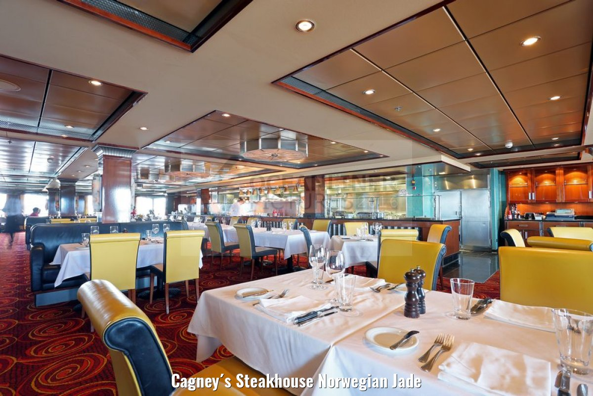 Cagney´s Steakhouse Norwegian Jade