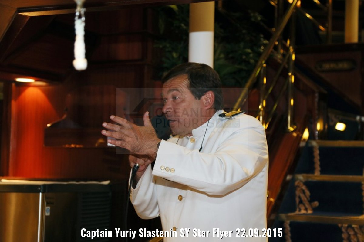 Captain Yuriy Slastenin SY Star Flyer 22.09.2015
