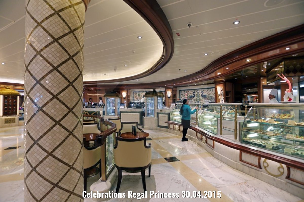 Celebrations Regal Princess 30.04.2015