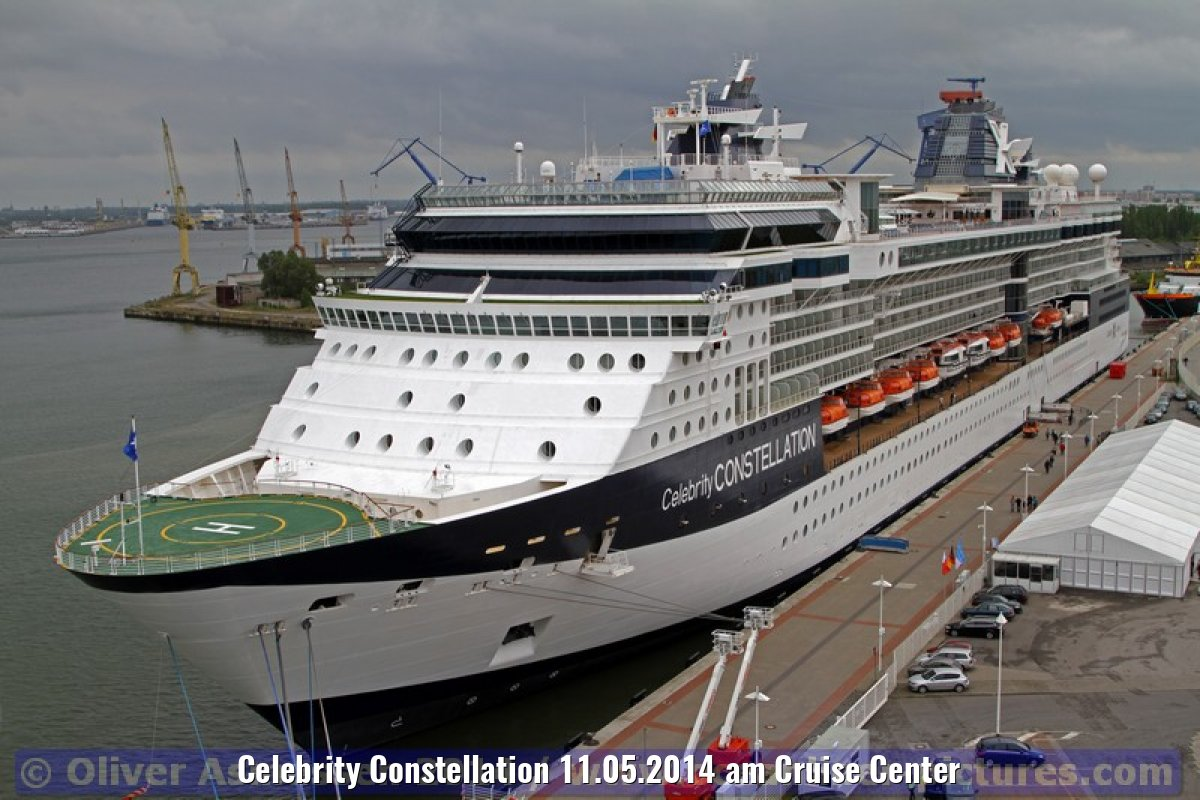 Celebrity Constellation 11.05.2014 am Cruise Center