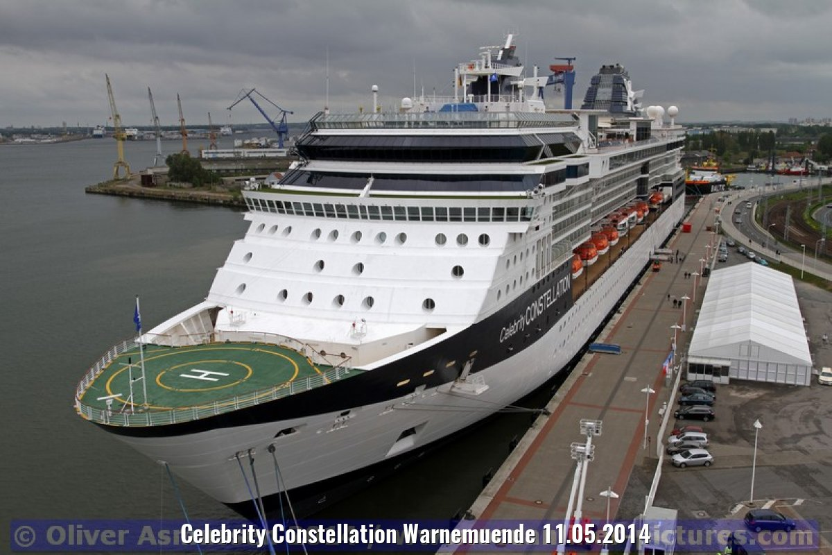Celebrity Constellation Warnemuende 11.05.2014