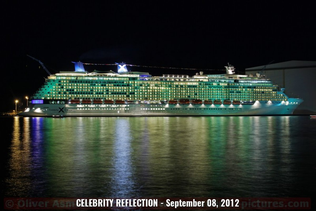 CELEBRITY REFLECTION - September 08, 2012
