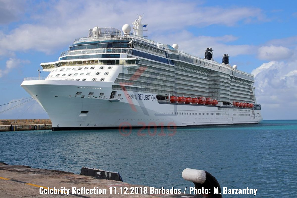 Celebrity Reflection 11.12.2018 Barbados / Photo: M. Barzantny