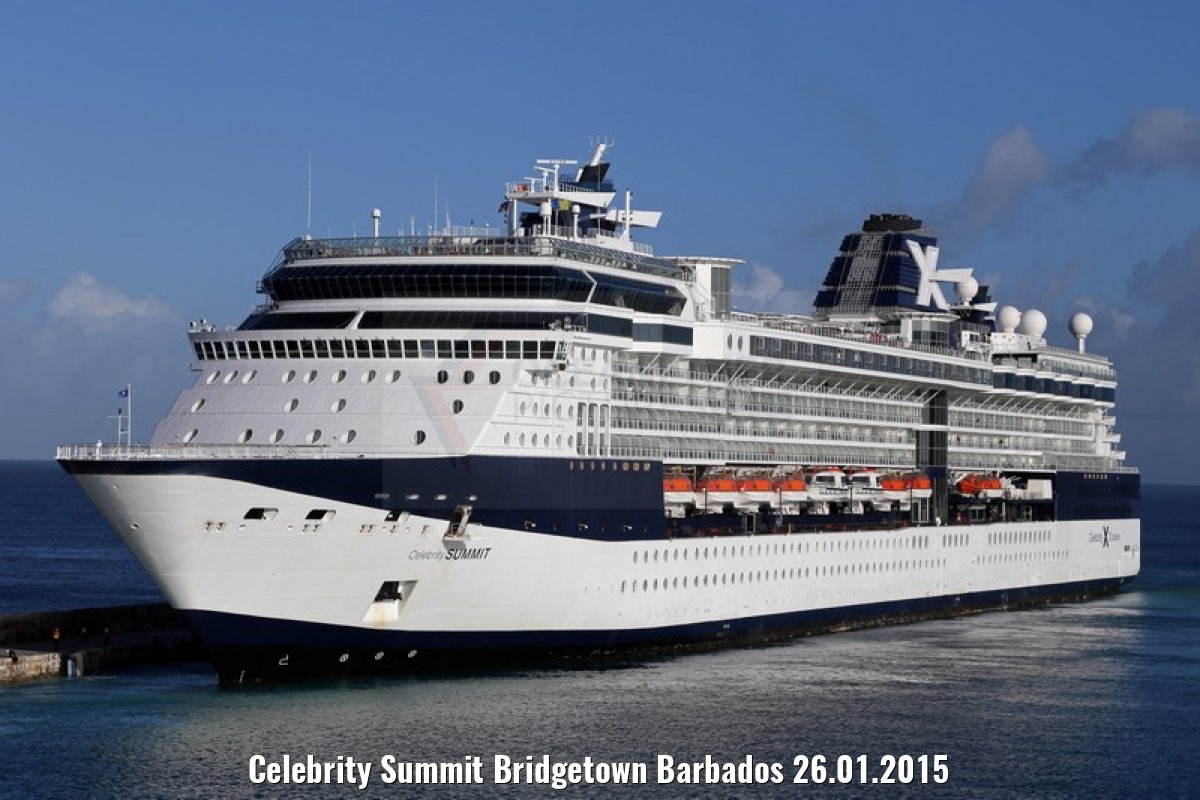 Celebrity Summit Bridgetown Barbados 26.01.2015
