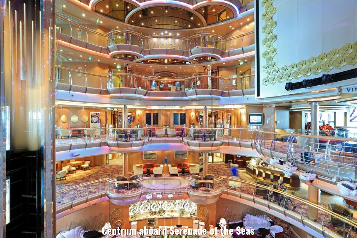 Centrum aboard Serenade of the Seas