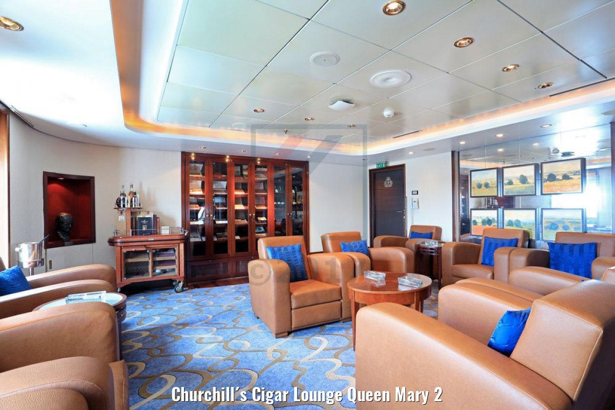 Churchill´s Cigar Lounge Queen Mary 2
