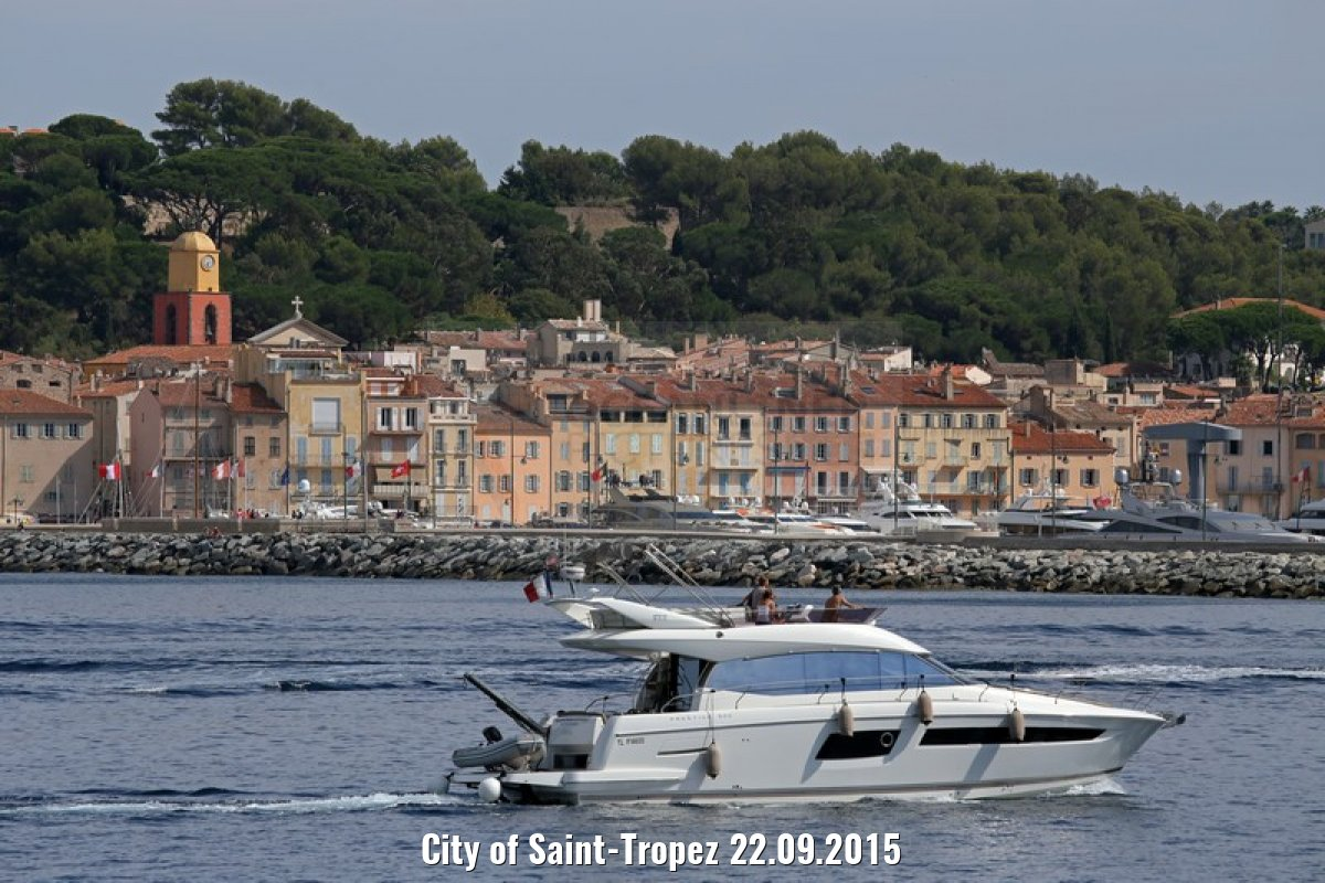 City of Saint-Tropez 22.09.2015