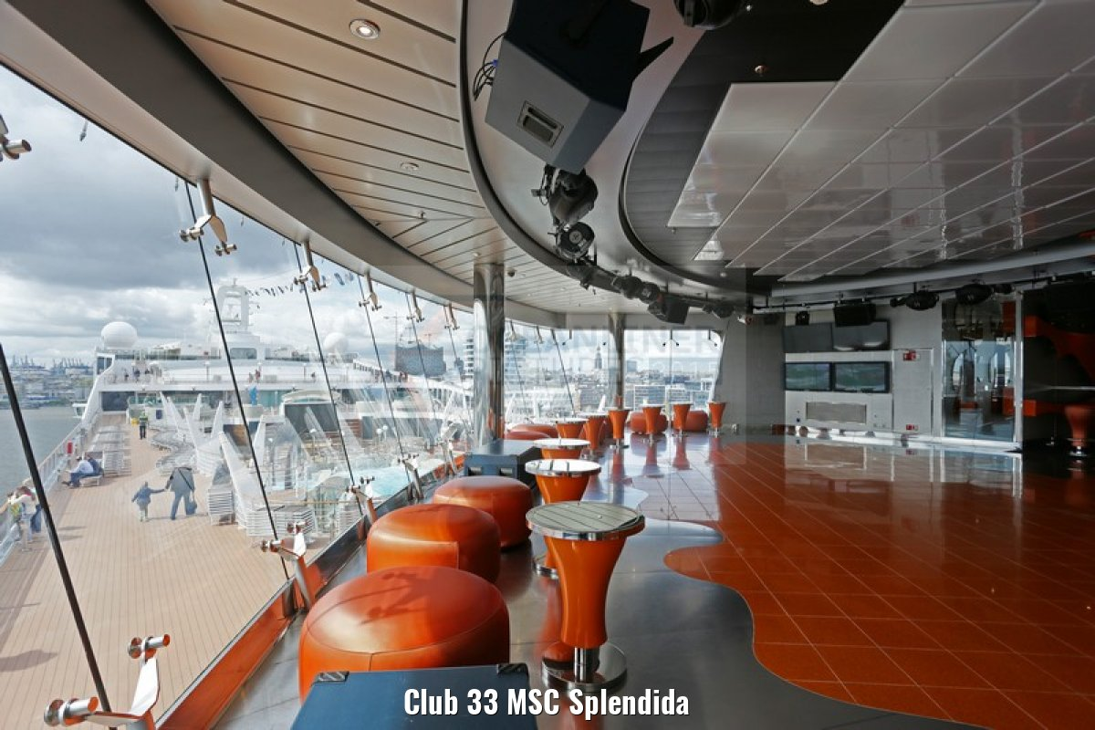 Club 33 MSC Splendida