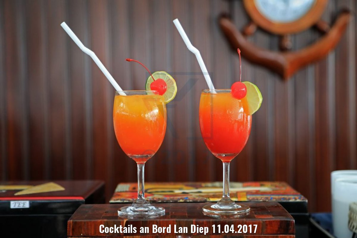 Cocktails an Bord Lan Diep 11.04.2017
