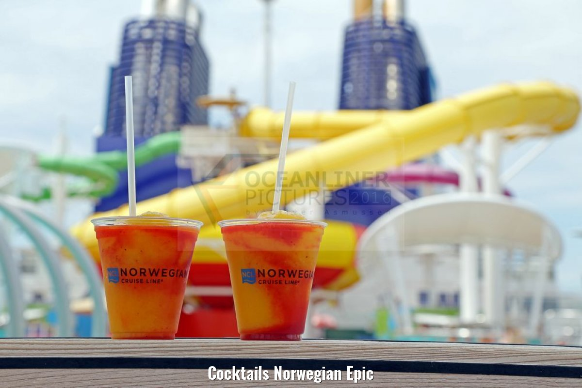 Cocktails Norwegian Epic