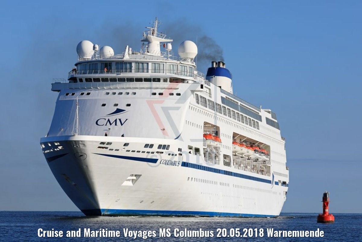 Cruise and Maritime Voyages MS Columbus 20.05.2018 Warnemuende