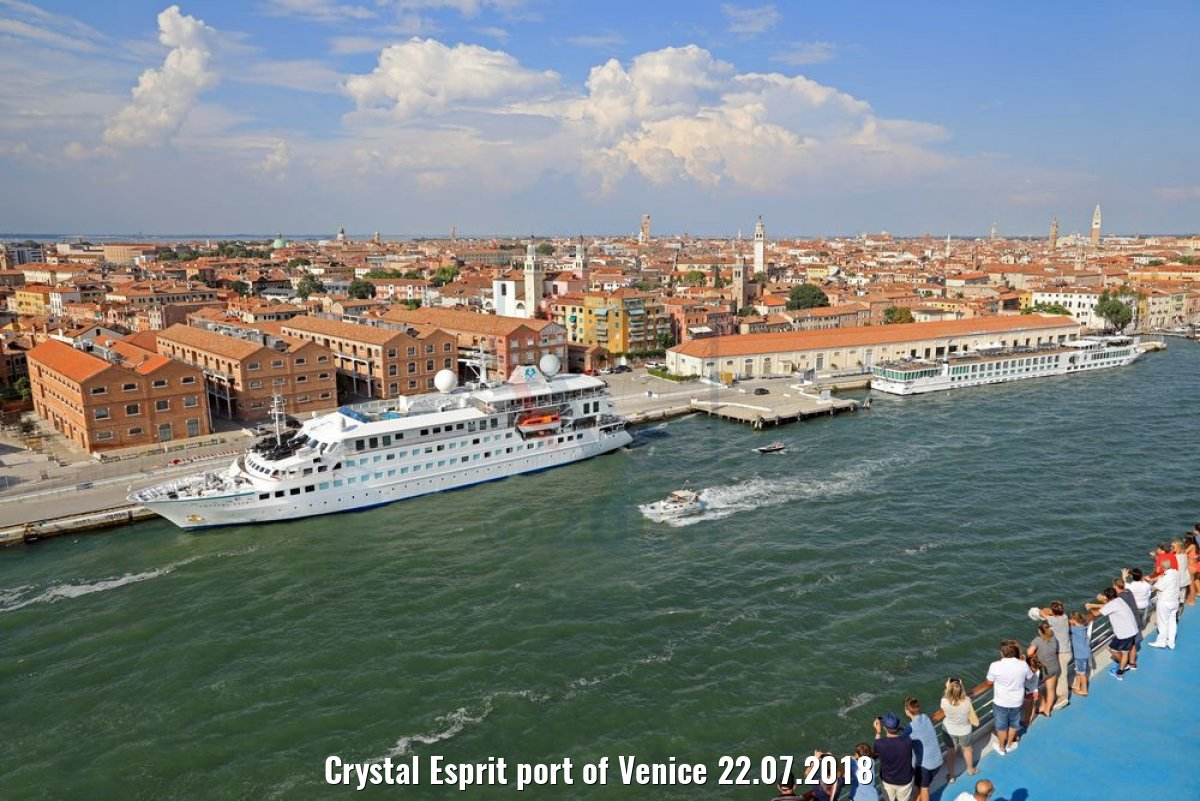 Crystal Esprit port of Venice 22.07.2018