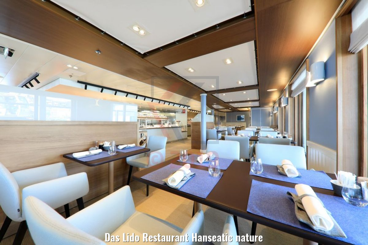 Das Lido Restaurant Hanseatic nature