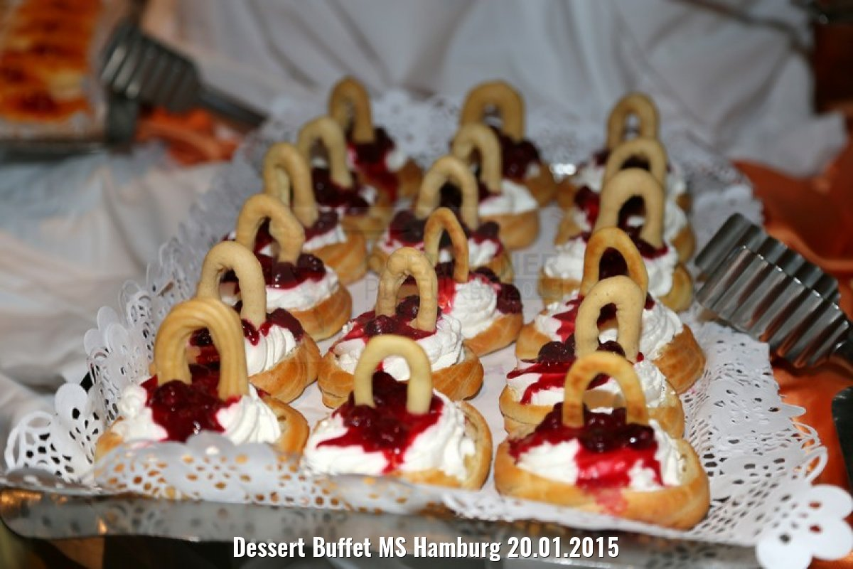 Dessert Buffet MS Hamburg 20.01.2015