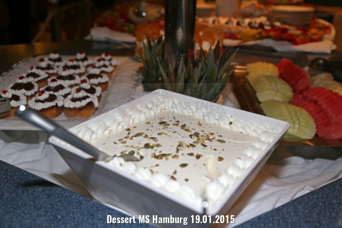 Dessert MS Hamburg 19.01.2015