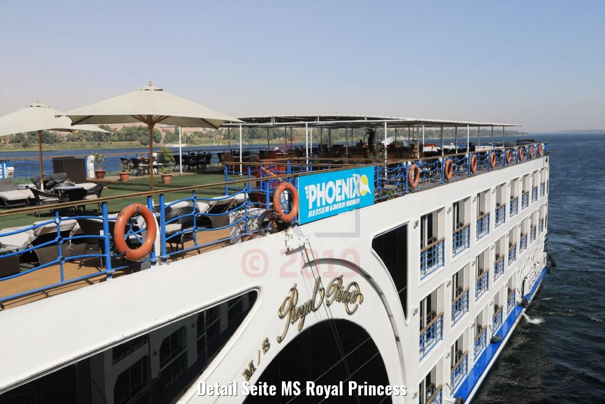 Detail Seite MS Royal Princess