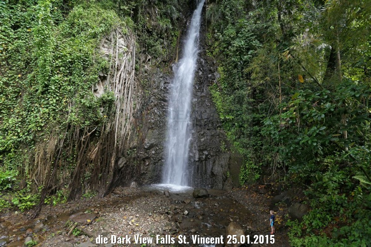 die Dark View Falls St. Vincent 25.01.2015