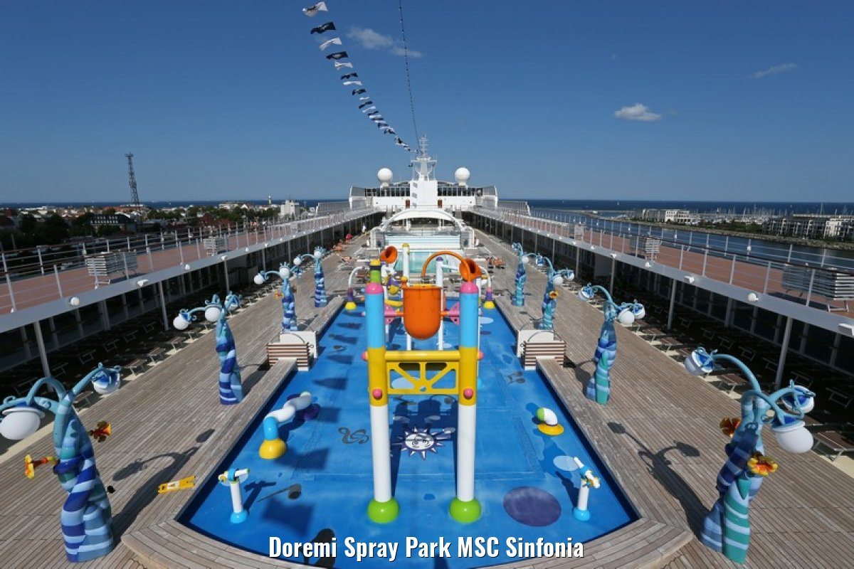 Doremi Spray Park MSC Sinfonia